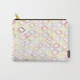 Technicolor Diamonds in the Rough Carry-All Pouch