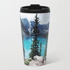 Lake Moraine Alberta Travel Mug