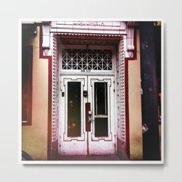 Double door 206 1/2 Metal Print