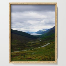 Loch Maree - Scotland Serving Tray