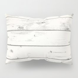 Light Natural Wood Texture Pillow Sham