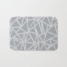 Ab Blocks Grey #2 Bath Mat