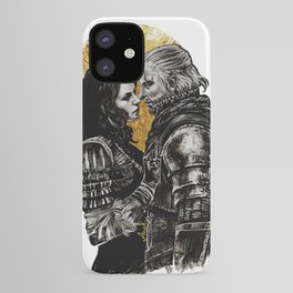 Geralt and Yennefer iPhone Case