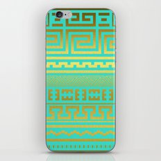 Gold | Greek iPhone & iPod Skin