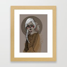 f a l l Framed Art Print
