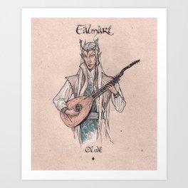 Falmari - Olwe Art Print