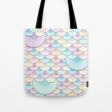Pastel Wagon Wheels Tote Bag
