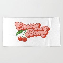 Cherry Bomb Beach Towel