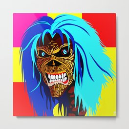 EDDIE D HEAD Metal Print
