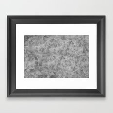 Ambient Canvas Texture Framed Art Print