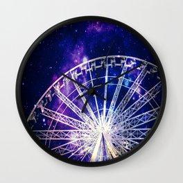 Galaxy Ferris Wheel Wall Clock