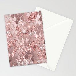 Mermaid Glitter Scales #8 (Faux Glitter) #shiny #decor #art #society6 Stationery Cards