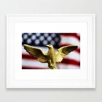 america Framed Art Prints featuring America by ThePhotoGuyDarren