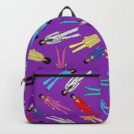 Purple Pattern 2 Backpack