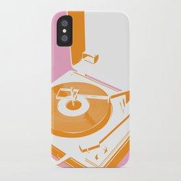45rpm 33 1/3rpm 16rpm iPhone Case