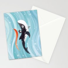 Grandpa Orca Stationery Cards