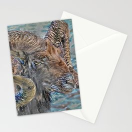 Mouflon_A1 Stationery Cards