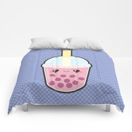Bubble Tea Comforters