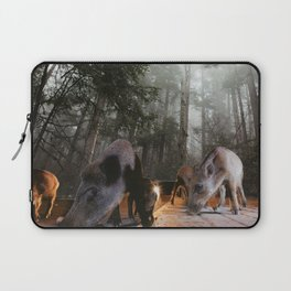 Forest roads Laptop Sleeve