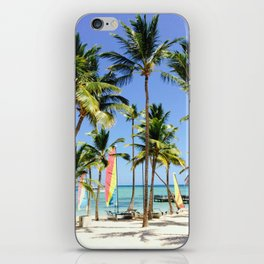 Palm Tree Vacation iPhone Skin