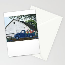 Flower Farm Truck Stationery Cards