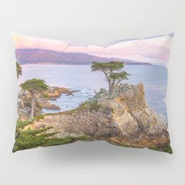 Lone Cypress Spring Sunset Pillow Sham