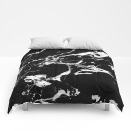 Black Marble #13 #decor #art #society6 Comforters