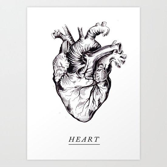 // HEART // Art Print