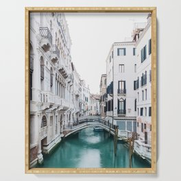 The Floating City - Venice Italy Architecture Photography Serving Tray
