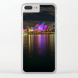 Sydney Opera House & Harbour Bridge Clear iPhone Case
