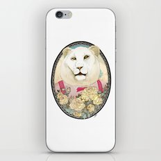 Lion and Roses iPhone & iPod Skin