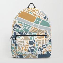 Paris map Backpack