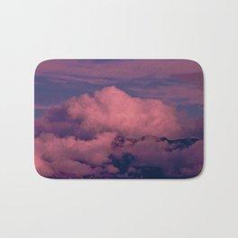 Winter Storm Clouds Bath Mat