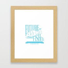 FUTURE FISH CO. Framed Art Print