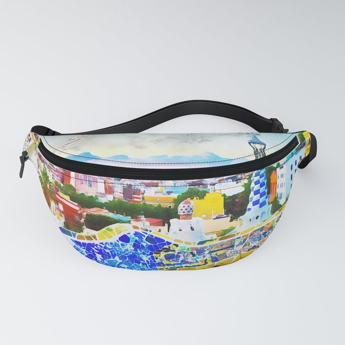Barcelona, Parc Guell Fanny Pack