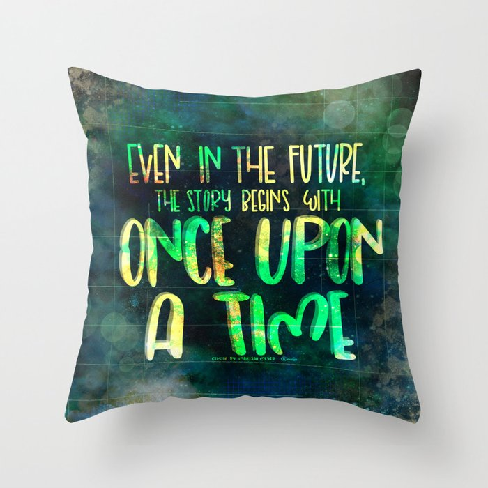 Once Upon A Time Cinder Throw Pillow By Lkdesignstudio