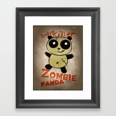 ZombiePanda Framed Art Print