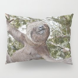 Sloth, A Real Tree Hugger Pillow Sham