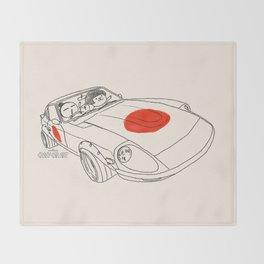 Crazy Car Art 0160 Throw Blanket