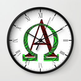 From A  to Z Wall Clock