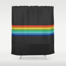 Vintage T-shirt No13 Shower Curtain