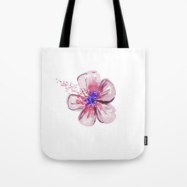 Little Lilac Flower Tote Bag