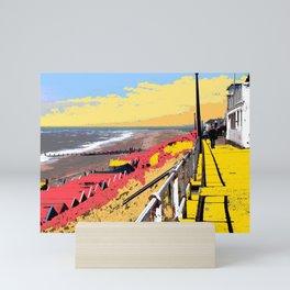 Southwold Promenade Style Mini Art Print