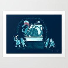 Exposed! Art Print