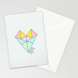 Clear Eyes Full Hearts Can't Lose Stationery Cards