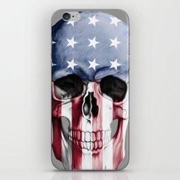 American Skull iPhone Skin