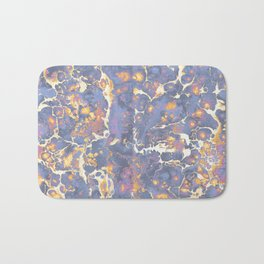 Complementary Paint Marble Bath Mat