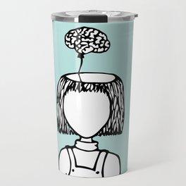 Balloon Brain Travel Mug