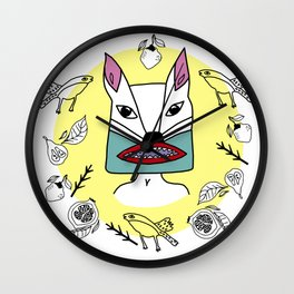 Kachina primavera Wall Clock