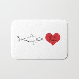 Love Bites Bath Mat